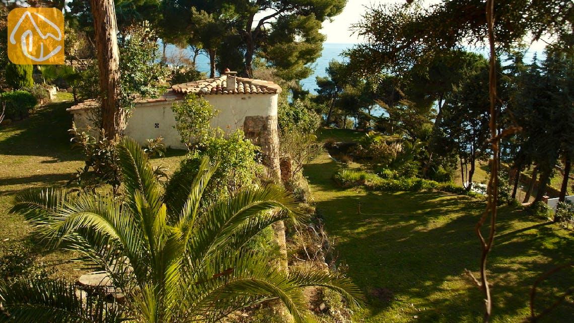Vakantiehuizen Costa Brava Spanje - Villa Infinity - Tuin