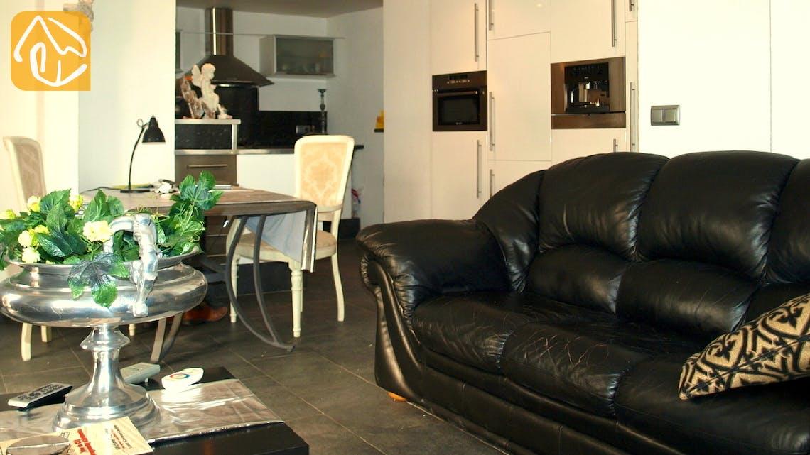 Vakantiehuizen Costa Brava Spanje - Apartment Revolution - Woonkamer