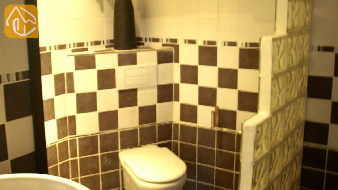 Ferienhäuser Costa Brava Spanien - Apartment Revolution - Badezimmer