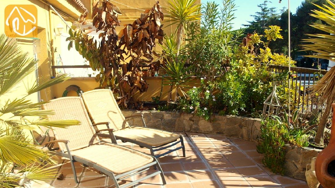 Vakantiehuizen Costa Brava Spanje - Apartment Revolution - Terras