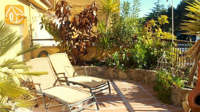 Ferienhäuser Costa Brava Spanien - Apartment Revolution - Terrasse