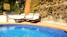 Holiday villas Costa Brava Spain - Villa Blanca - Swimming pool