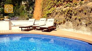 Ferienhäuser Costa Brava Spanien - Villa Blanca - Schwimmbad