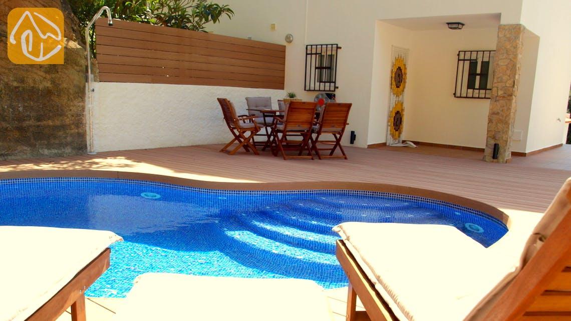 Casas de vacaciones Costa Brava España - Villa Blanca - Piscina