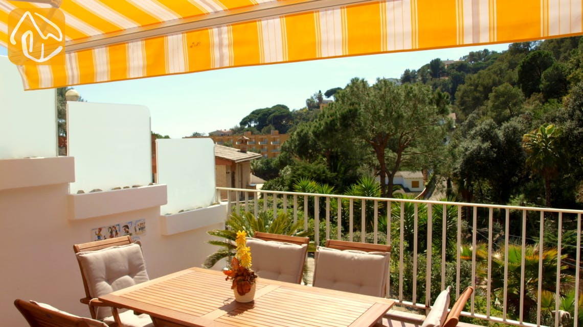Vakantiehuizen Costa Brava Spanje - Villa Blanca - Terras