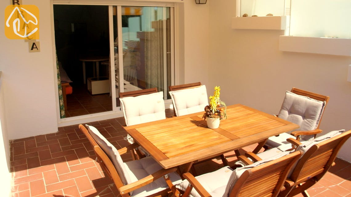 Holiday villas Costa Brava Spain - Villa Blanca - Terrace