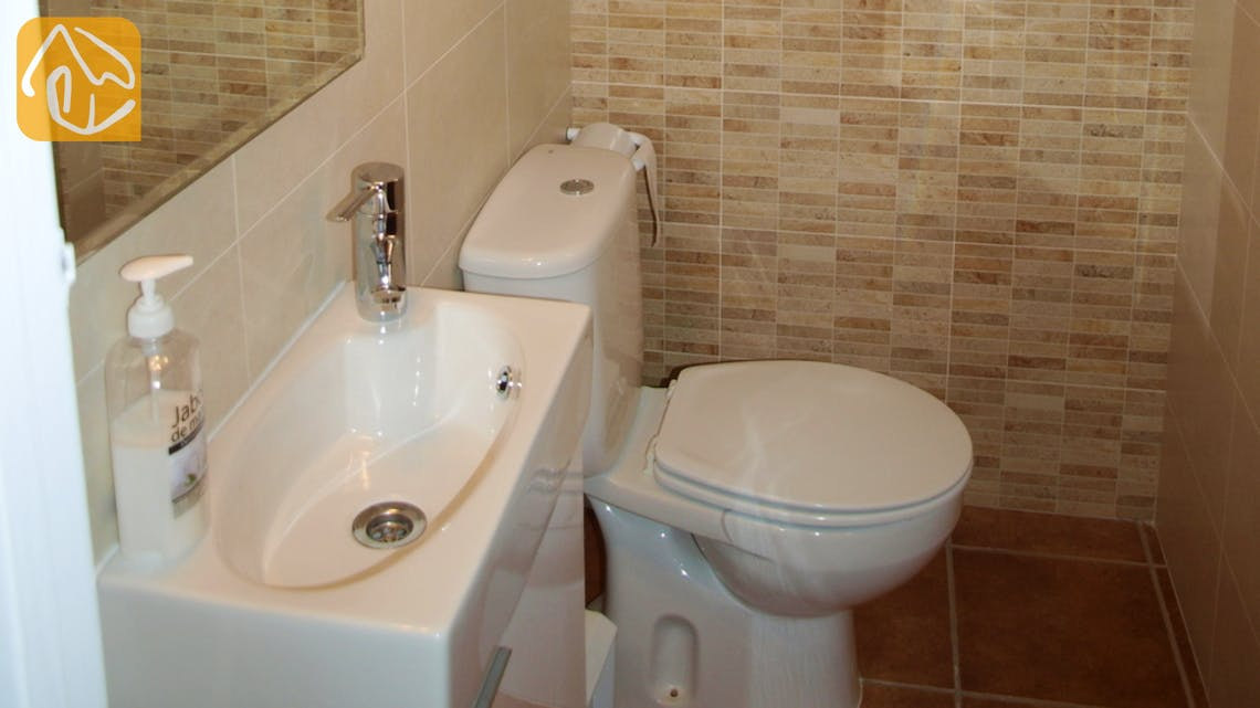 Holiday villas Costa Brava Spain - Villa Blanca - Toilet