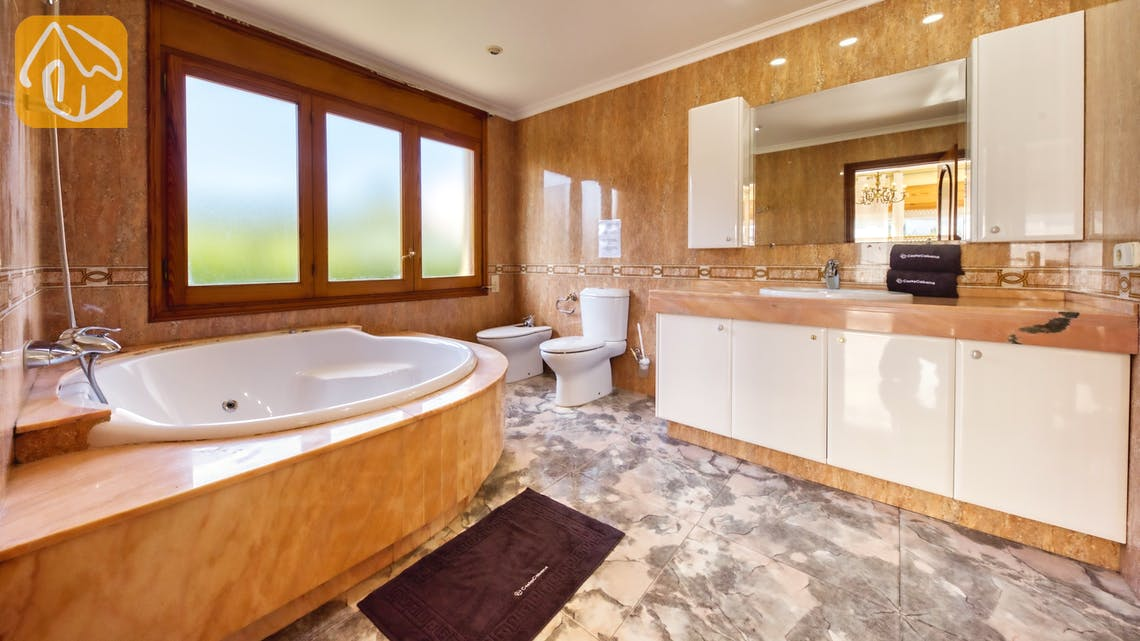 Ferienhäuser Costa Brava Spanien - Villa Baileys - En-suite bathroom