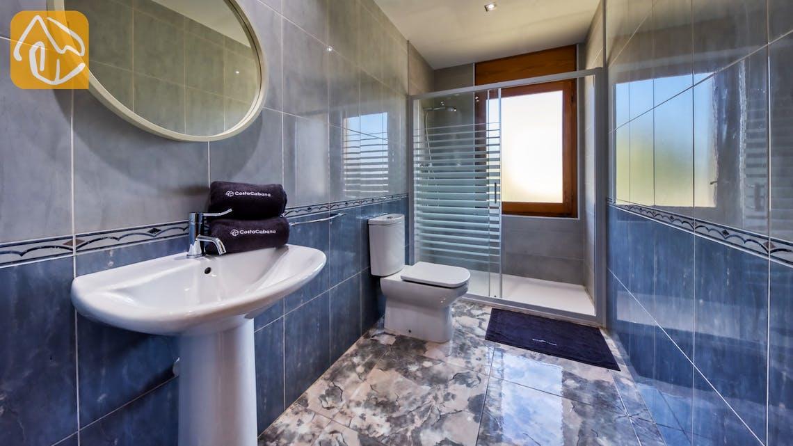 Ferienhäuser Costa Brava Spanien - Villa Baileys - Badezimmer