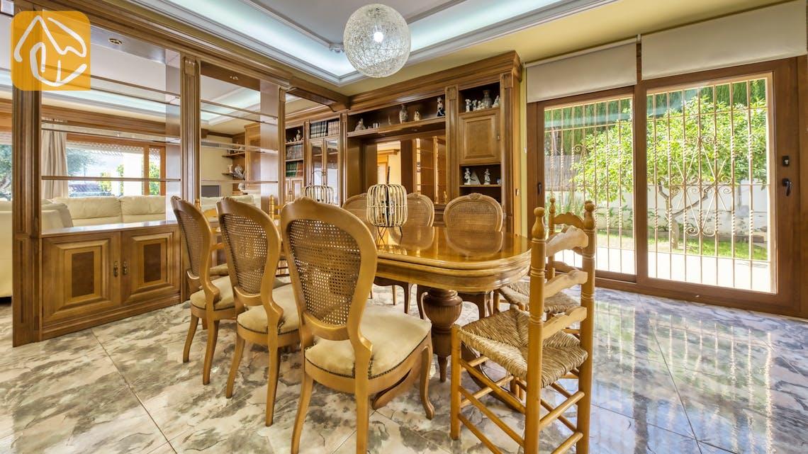 Vakantiehuizen Costa Brava Spanje - Villa Baileys - Diner zone