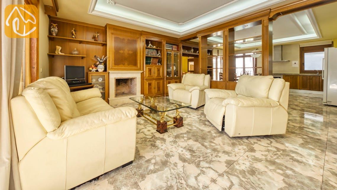 Ferienhäuser Costa Brava Spanien - Villa Baileys - Wohnbereich