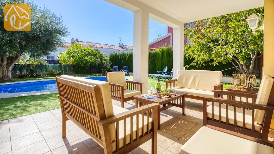 Vakantiehuizen Costa Brava Spanje - Villa Baileys - Terras
