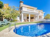 Ferienhäuser Costa Brava Spanien - Villa Baileys - Schwimmbad