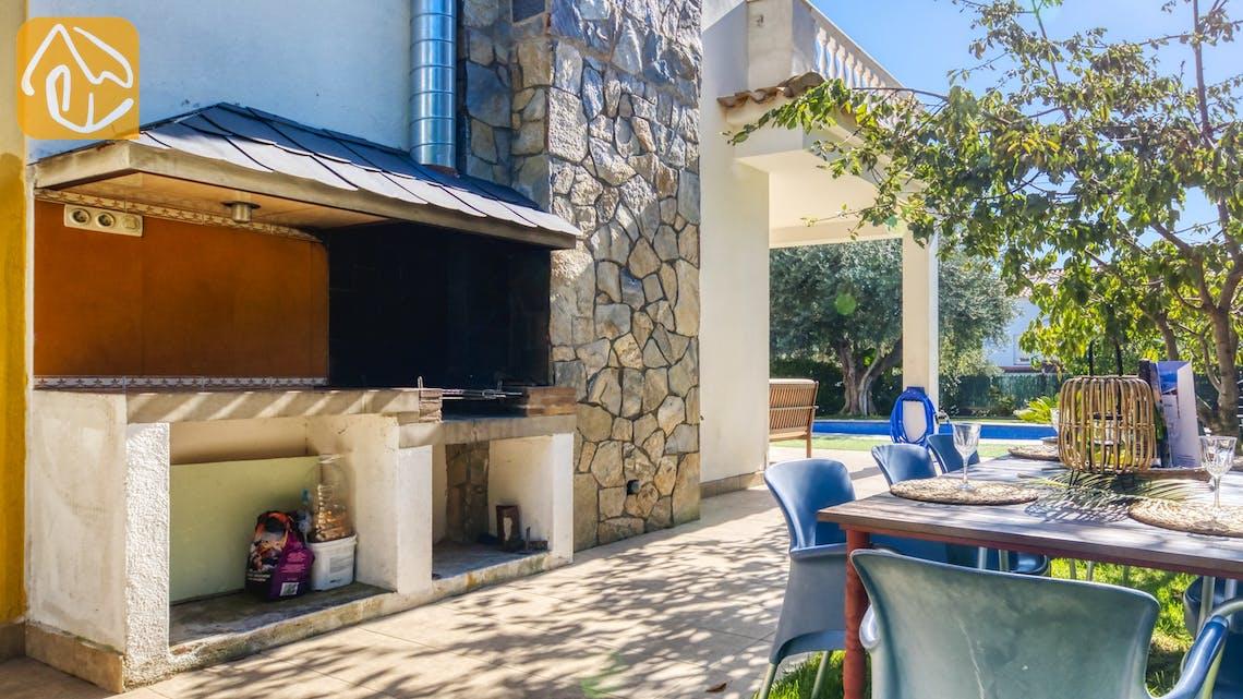 Vakantiehuizen Costa Brava Spanje - Villa Baileys - BBQ Area