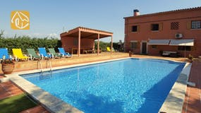 Holiday villas Costa Brava Countryside Spain - Villa Mas Girones - Swimming pool