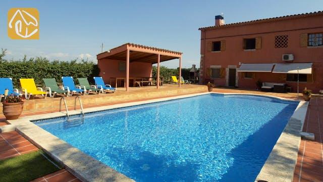 Casas de vacaciones Costa Brava Countryside España - Villa Mas Girones - Piscina