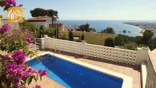 Holiday villas Costa Brava Spain - Villa Paquita - Swimming pool