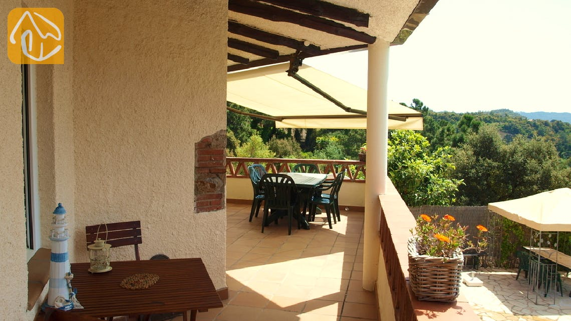 Holiday villas Costa Brava Spain - Villa Coco - Terrace