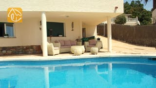 Holiday villas Costa Brava Spain - Villa Coco - Lounge area