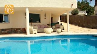 Ferienhäuser Costa Brava Spanien - Villa Coco - Sitzecke