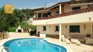 Holiday villas Costa Brava Spain - Villa Coco - Villa outside