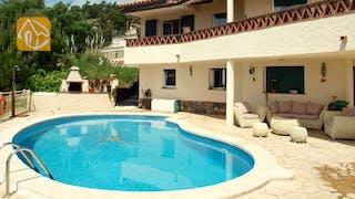 Ferienhäuser Costa Brava Spanien - Villa Coco - Villa Außenbereich