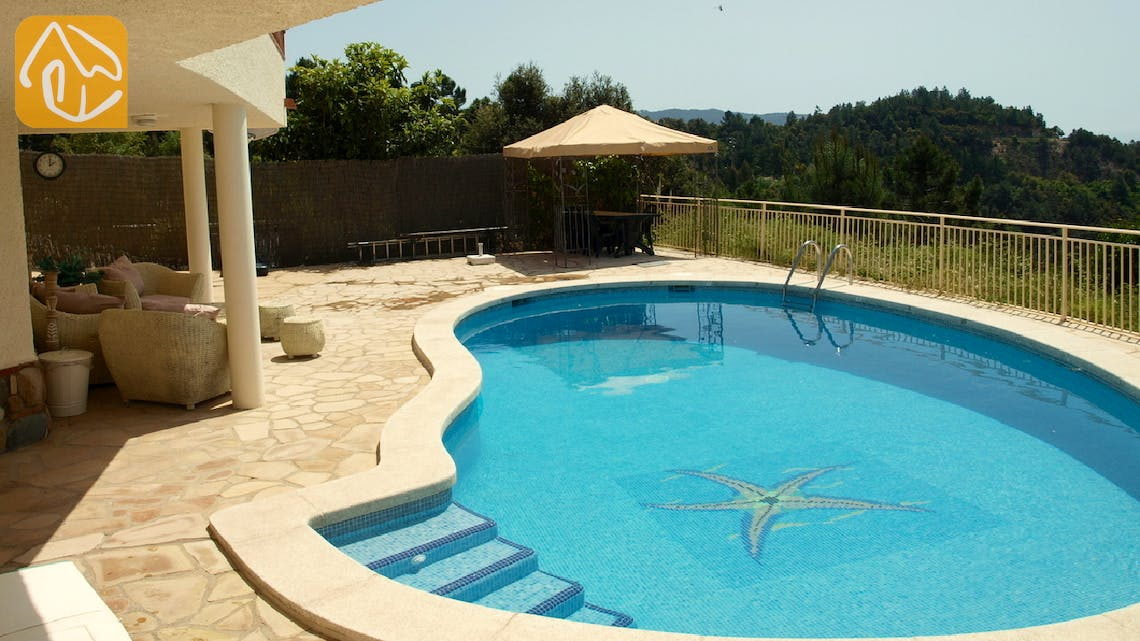 Holiday villas Costa Brava Spain - Villa Coco - Swimming pool