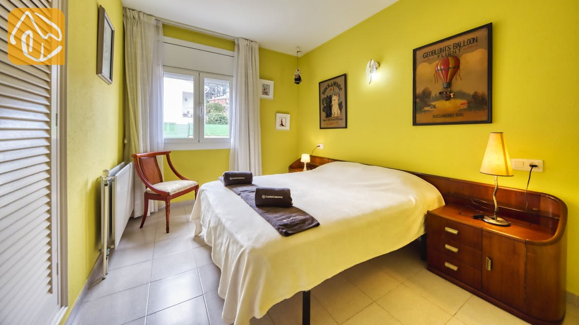 Holiday villas Costa Brava Spain - Villa Miro - Bedroom