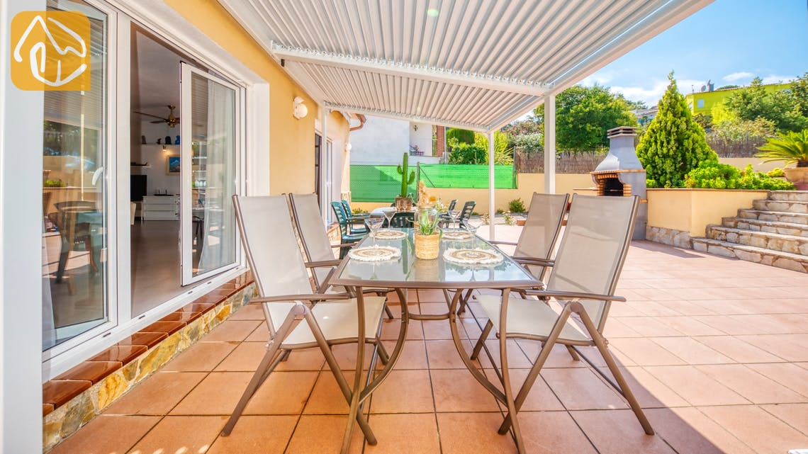 Ferienhäuser Costa Brava Spanien - Villa Miro - Terrasse