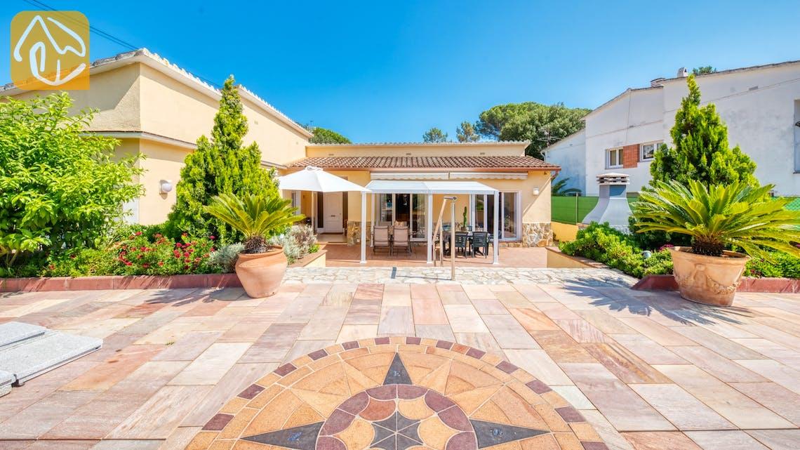 Ferienhäuser Costa Brava Spanien - Villa Miro - Sitzecke