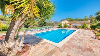 Casas de vacaciones Costa Brava España - Villa Miro - Piscina