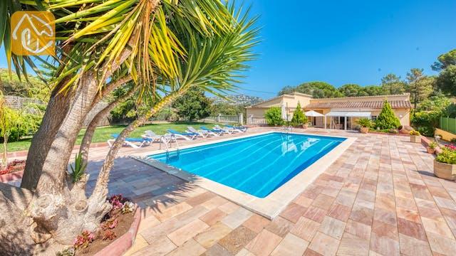 Ferienhäuser Costa Brava Spanien - Villa Miro - Schwimmbad
