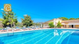 Casas de vacaciones Costa Brava España - Villa Miro - Tumbonas