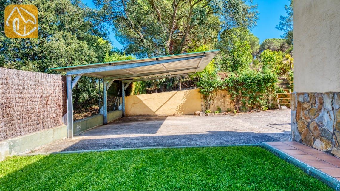 Ferienhäuser Costa Brava Spanien - Villa Miro - Garage