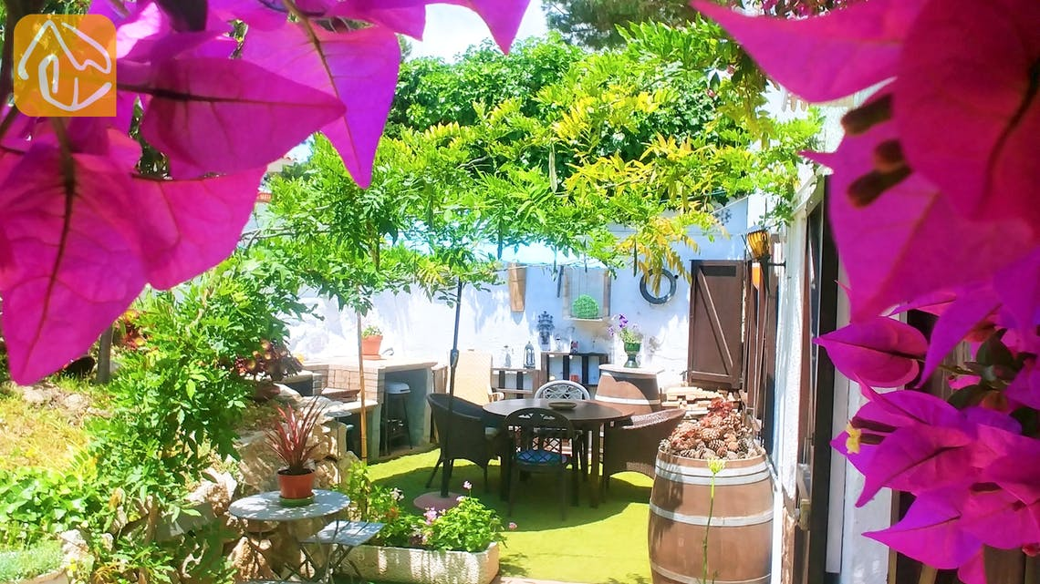 Vakantiehuizen Costa Brava Spanje - Casa Maravilla - BBQ Area