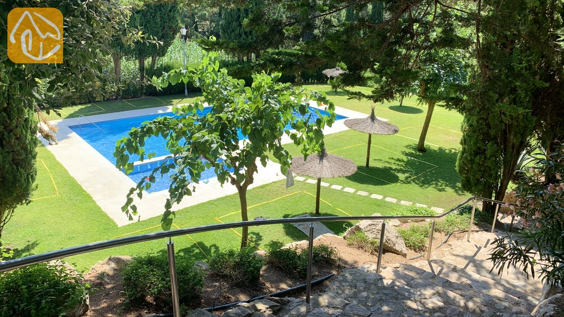 Holiday villas Costa Brava Spain - Casa Maravilla - Communal pool