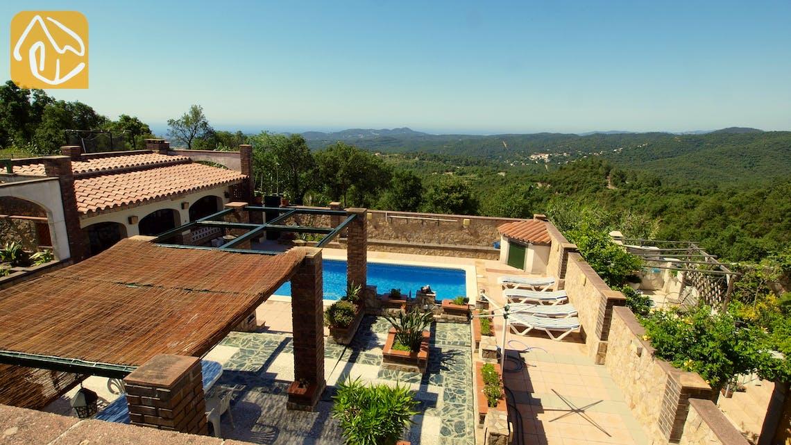 Holiday villas Costa Brava Spain - Villa Maxime - One of the views