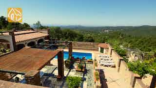 Holiday villas Costa Brava Spain - Villa Maxime - One of the views