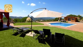 Holiday villas Costa Brava Spain - Villa Luna - Swimming pool