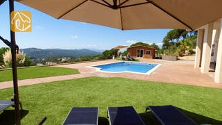 Holiday villas Costa Brava Spain - Villa Luna - Garden