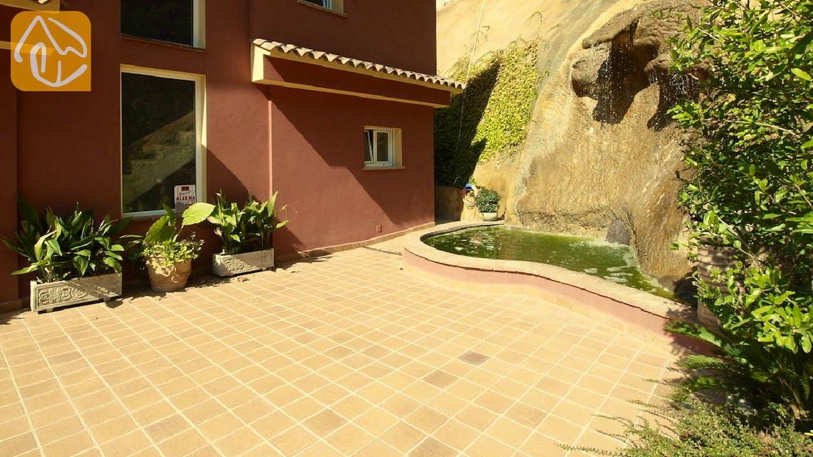 Ferienhäuser Costa Brava Spanien - Villa Bordeaux - Villa Außenbereich