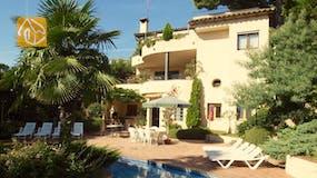 Casa de vacaciones Costa Brava España - Villa Jasmin - Afuera de la casa