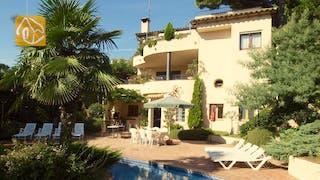 Casas de vacaciones Costa Brava España - Villa Jasmin - Afuera de la casa