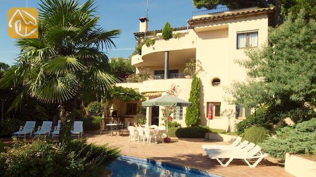 Holiday villas Costa Brava Spain - Villa Jasmin - Villa outside