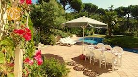 Casa de vacaciones Costa Brava España - Villa Jasmin - Jardín