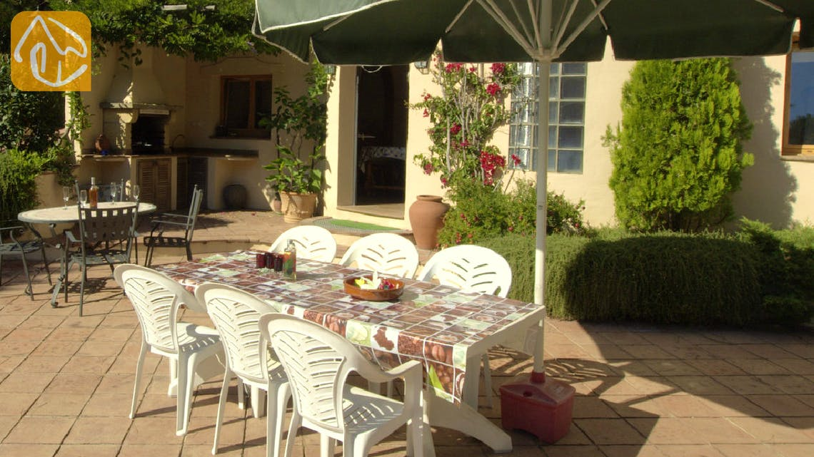 Holiday villas Costa Brava Spain - Villa Jasmin - Terrace