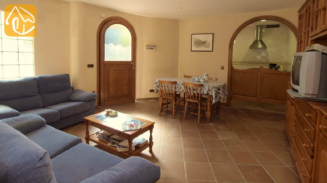 Holiday villas Costa Brava Spain - Villa Jasmin - Living area