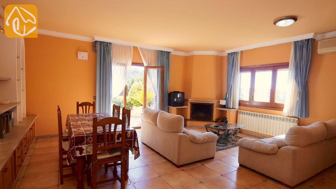 Holiday villas Costa Brava Spain - Villa Jasmin - Living room