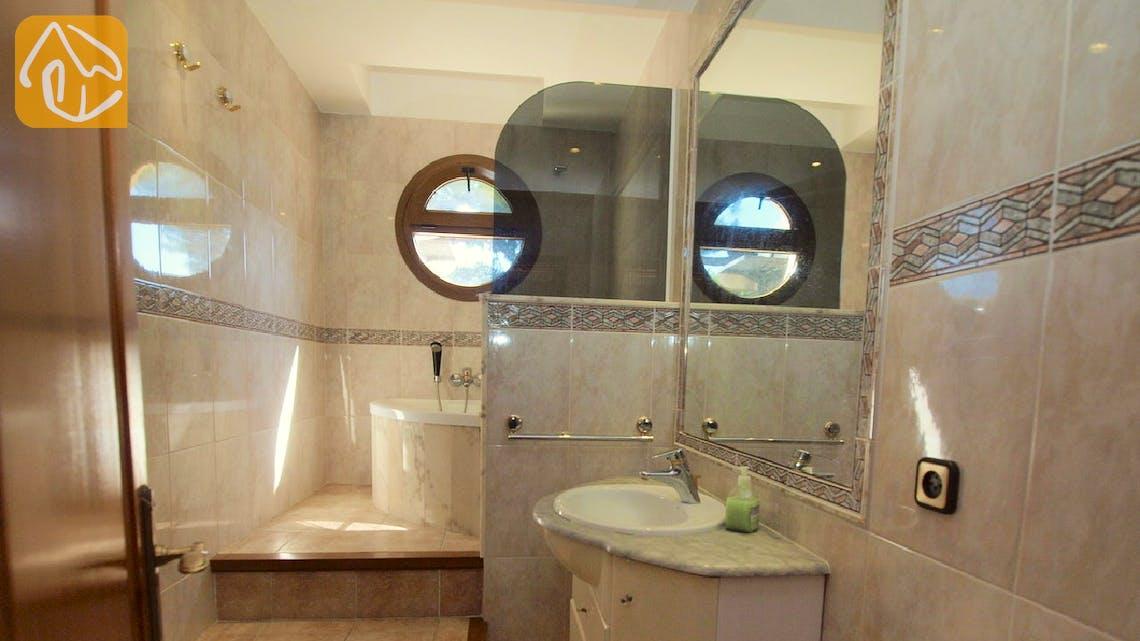 Holiday villas Costa Brava Spain - Villa Jasmin - Bathroom