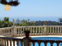 Holiday villas Costa Brava Spain - Villa Savana - One of the views